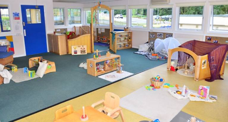 Image of: Nursery Montessori Room With Many Toys That Make Cheerful Kids All Day
