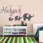 Nursery Wall Decals Elephant