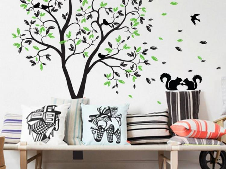 Picture of: Nursery Wall Decals Tree