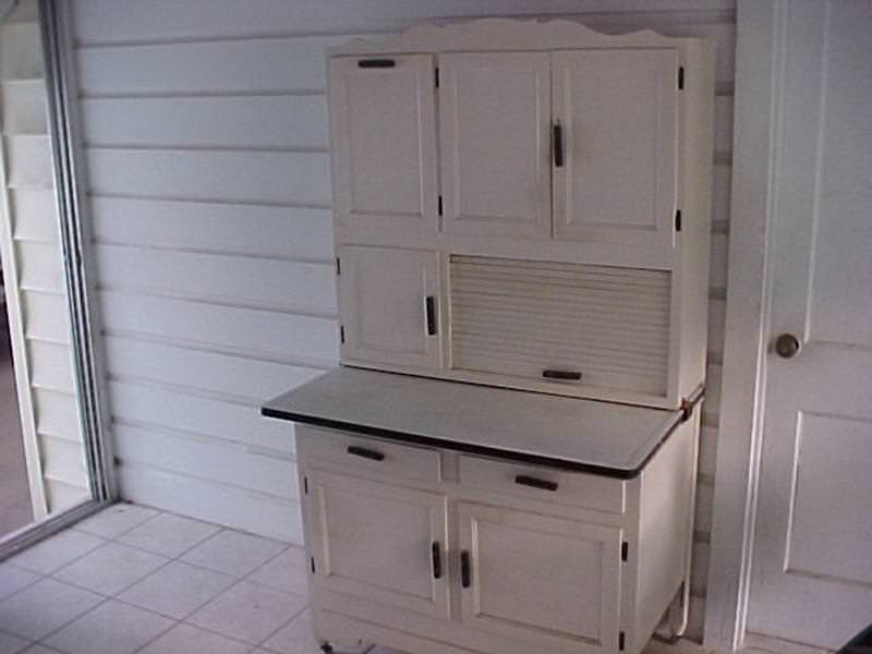 Picture of: Old Hoosier Cabinets For Sale