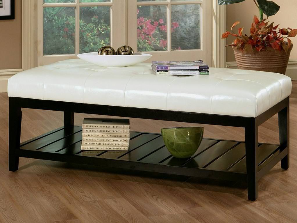 Image of: Oversized Rectangular Ottoman
