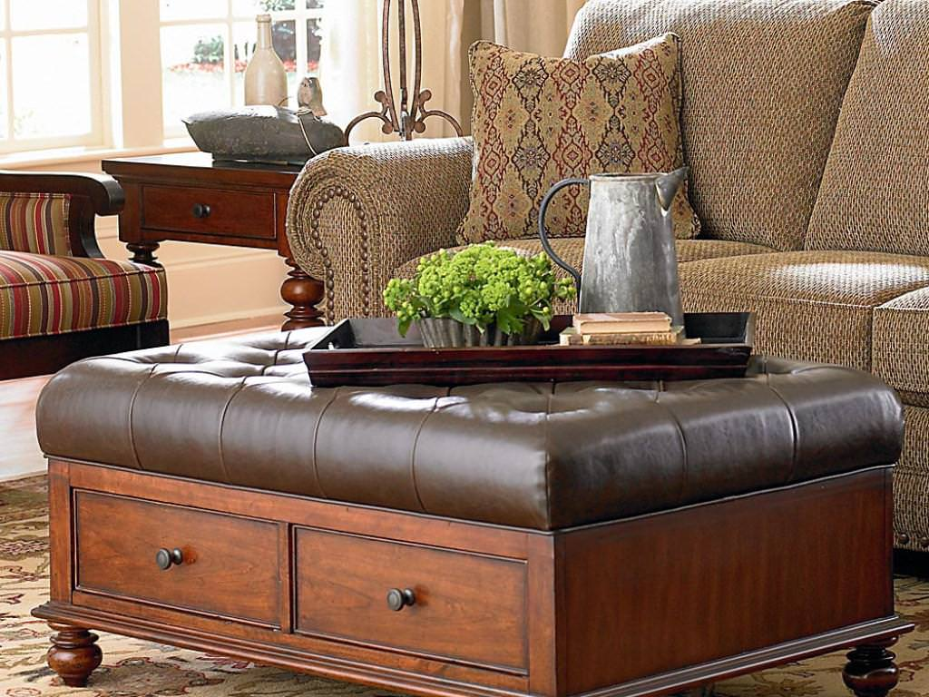 Image of: Oversized Square Ottoman