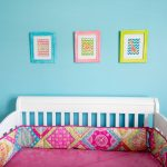 Pink And Aqua Nursery Bedding