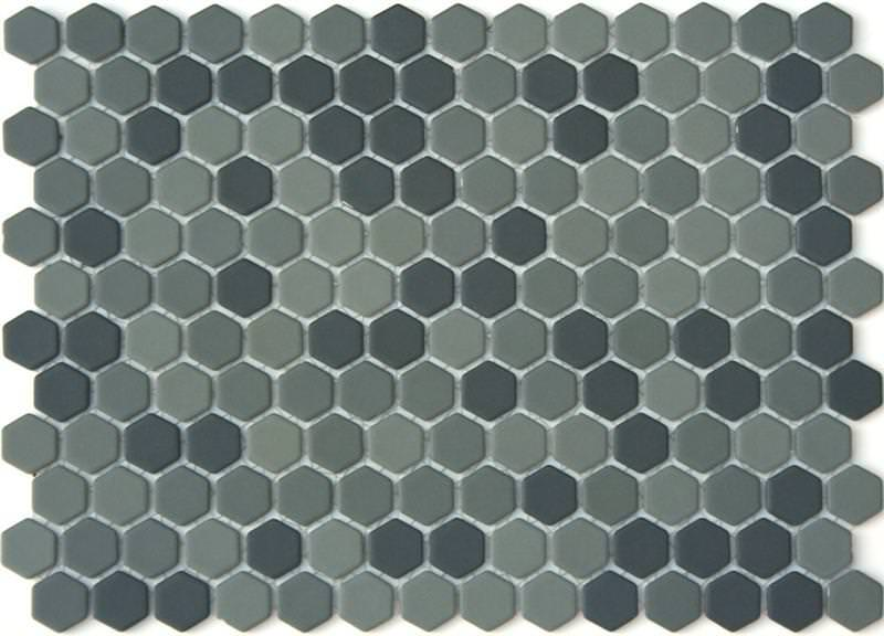 Image of: Porcelain Hexagon Tile