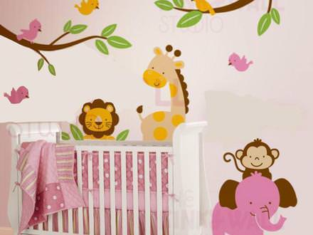 Picture of: Removable Wall Decals Nursery