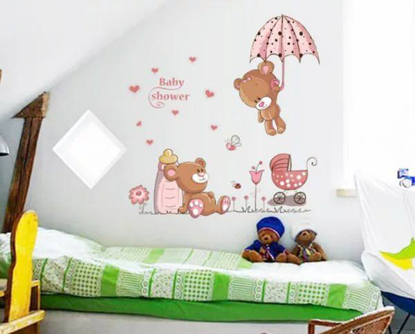 Picture of: Removable Wall Stickers For Baby Room