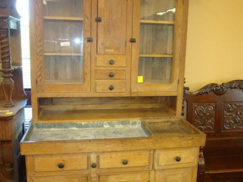 Picture of: Reproduction Hoosier Cabinets