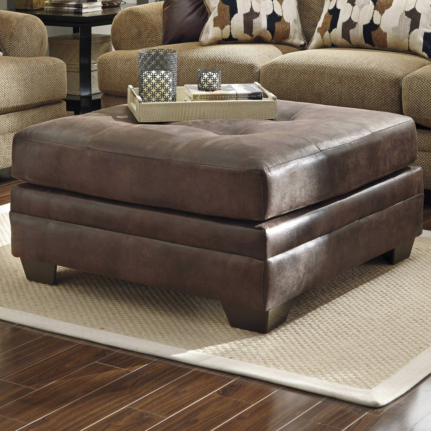 Image of: Small Oversized Ottoman