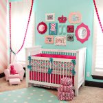 Turquoise Nursery Accessories