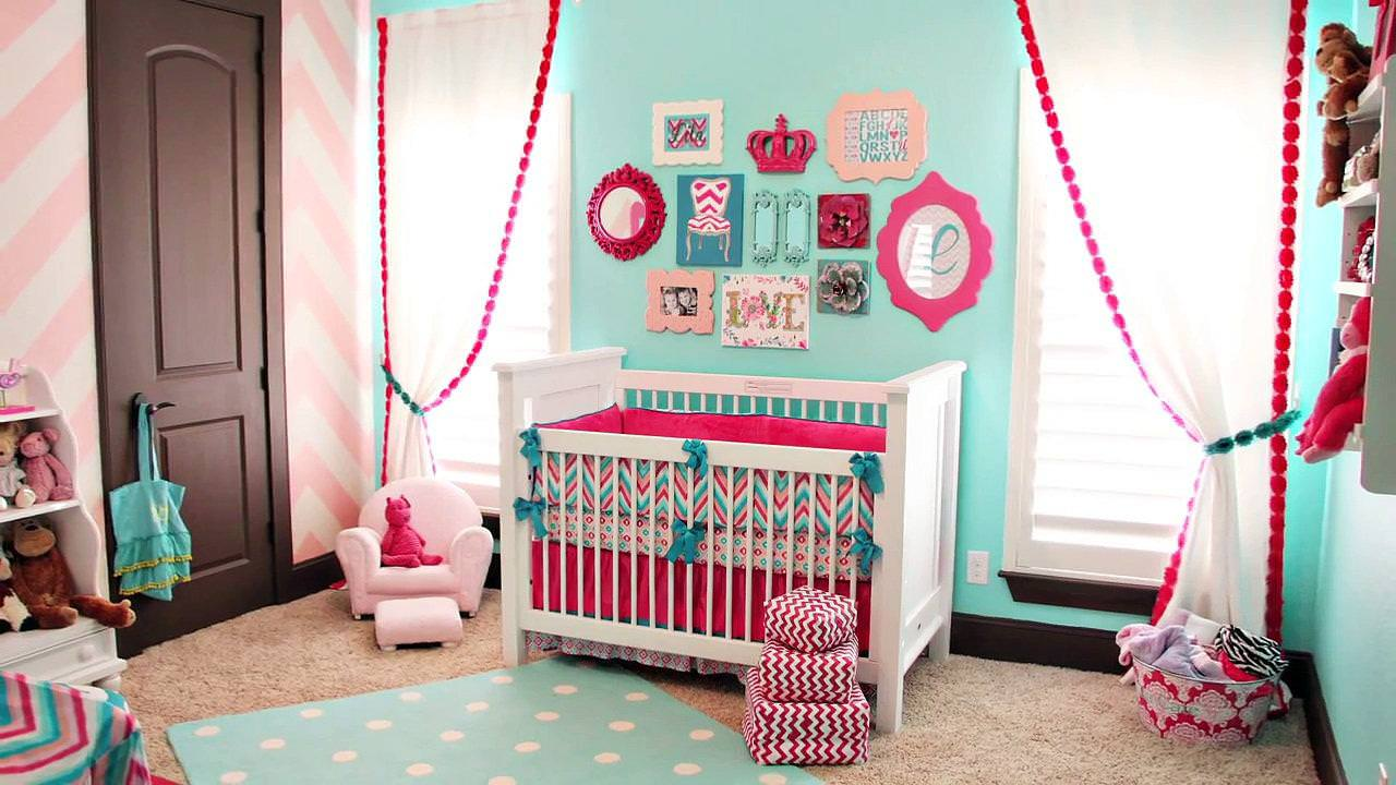 Image of: Turquoise Nursery Accessories