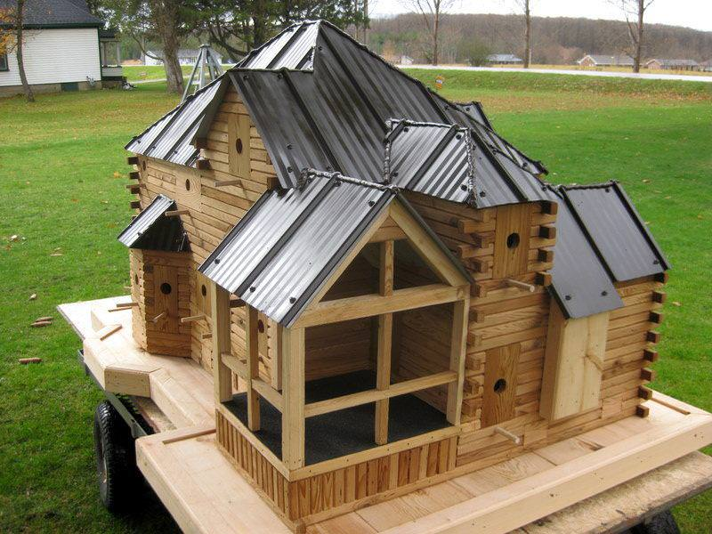 Image of: Unique Birdhouses To Build