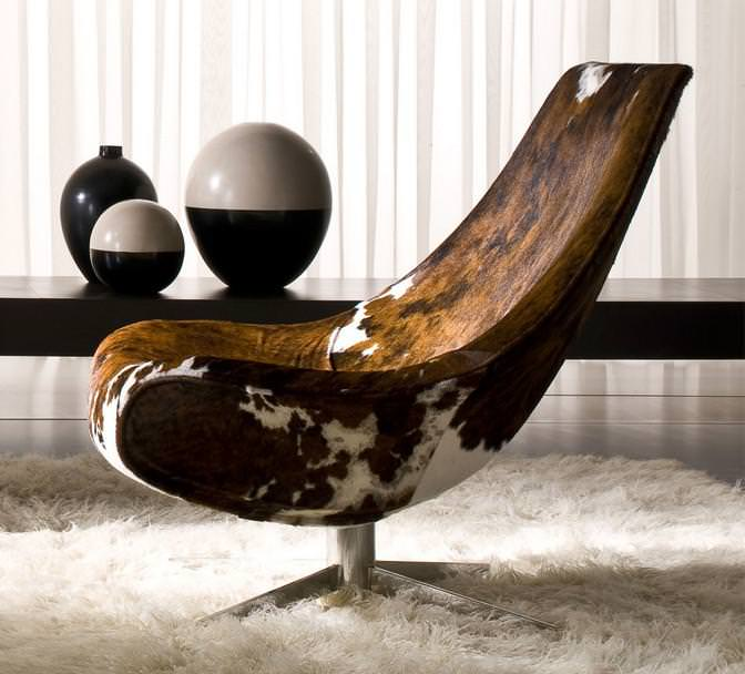 Image of: Used Modern Cowhide Chairs