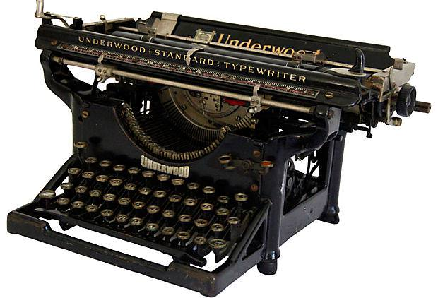 Picture of: Vintage Typewriter Amazon