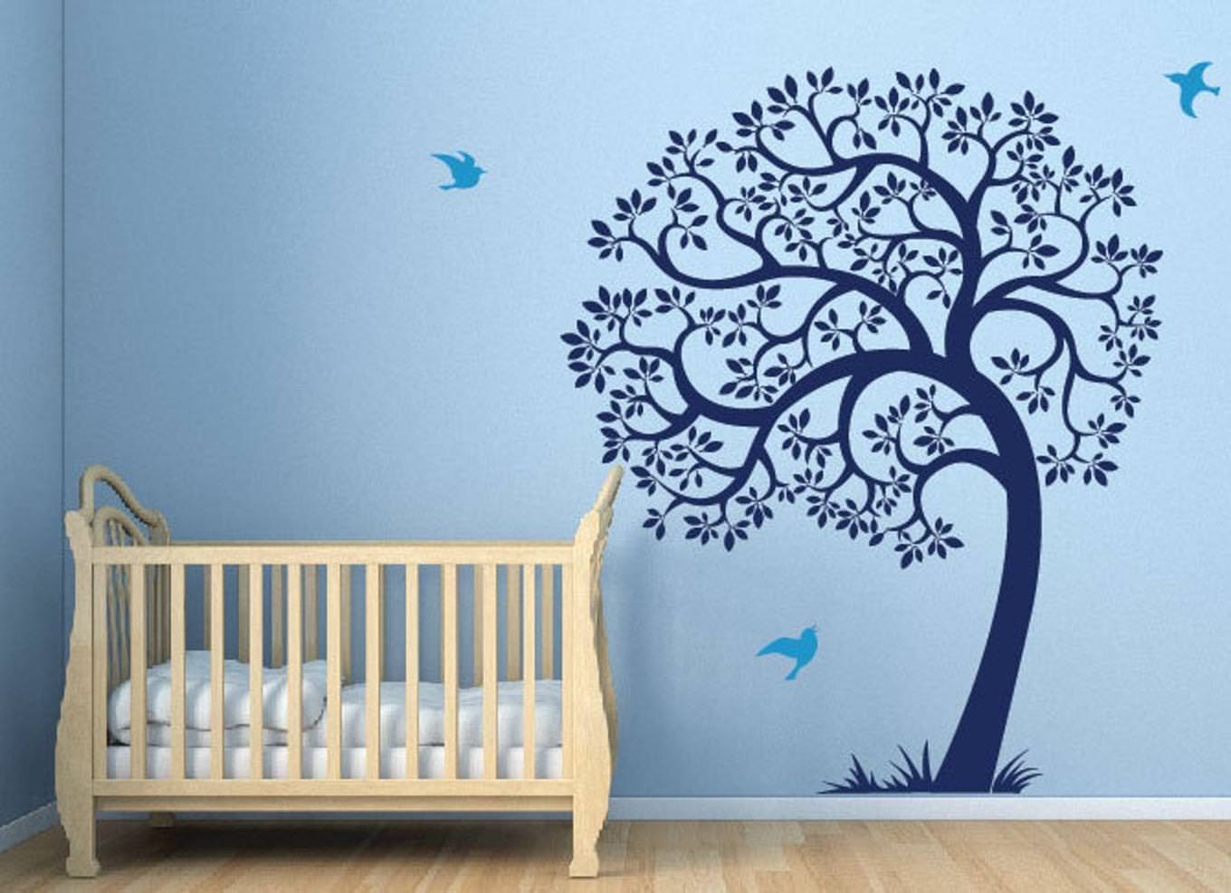 Picture of: Wall Decals For Nursery Boy