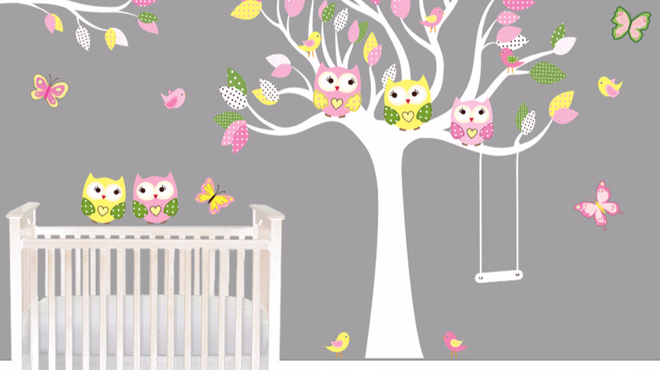 Picture of: Wall Decals For Nursery Girl