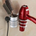 Wall Mounted Hair Dryer Holder
