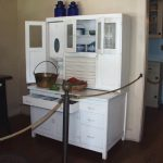 White Hoosier Cabinet Reproduction