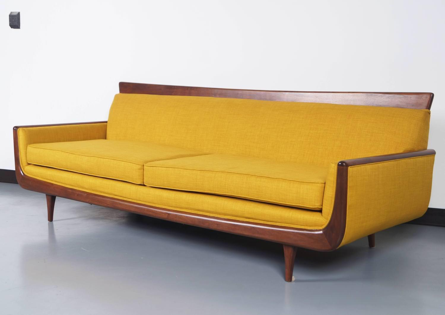 Image of: Affordable Mid Century Sofa