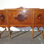 Antique Buffet Table