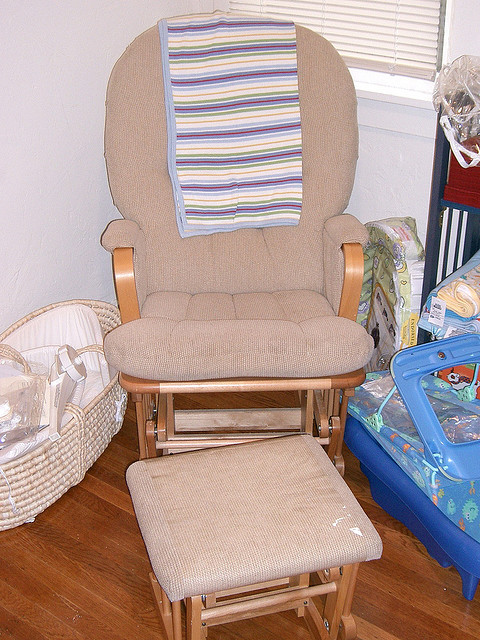 Image of: Baby rocking chair ideas