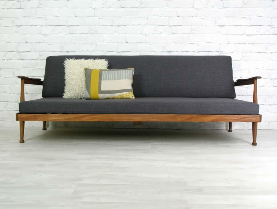Image of: Big Mid Century Sofa
