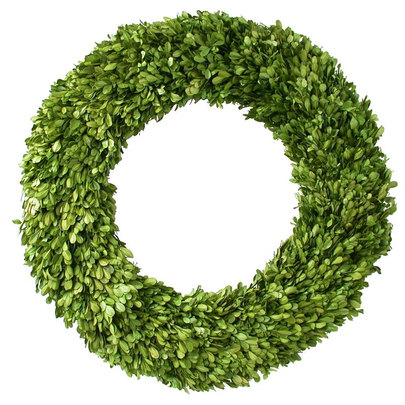 Picture of: Big boxwood wreath