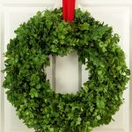 Boxwood wreath design