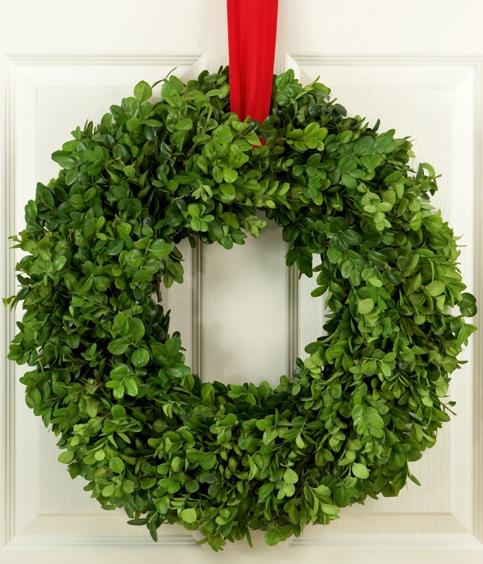 Picture of: Boxwood wreath design