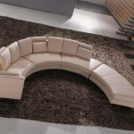 Contemporary modular sectional sofa