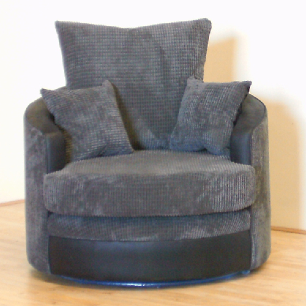 Picture of: Cuddle couch Swivel Chair