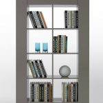Design Modern Grey Bookcase