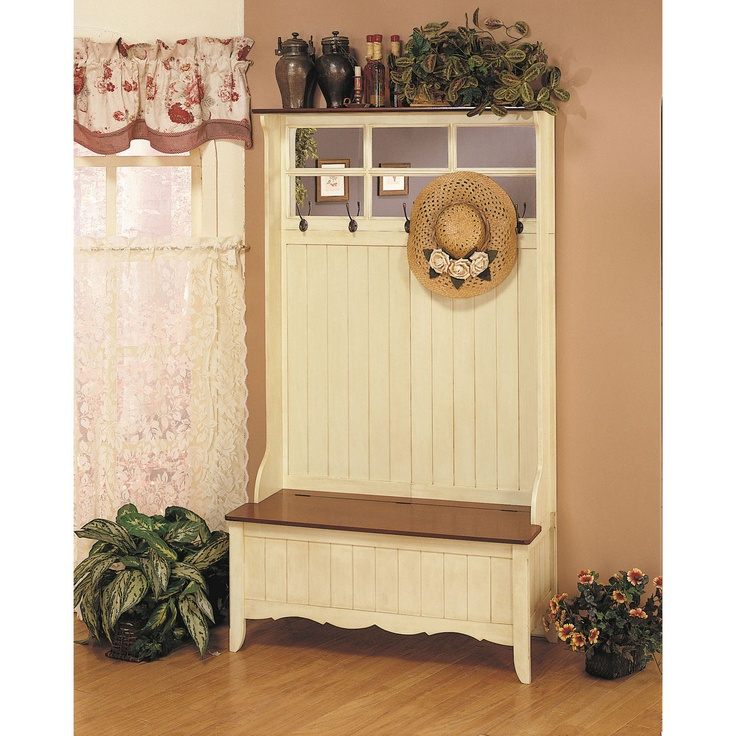 Picture of: Hall Tree Storage Bench Gallery