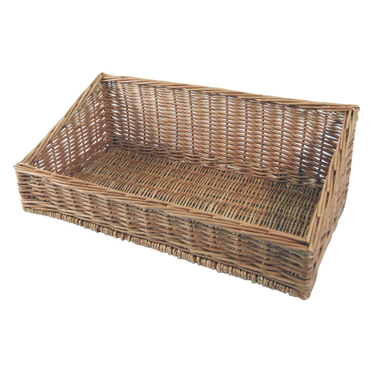 Image of: Ideas Wicker Display Baskets