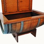 Ideas Wine Barrel Coffee Table
