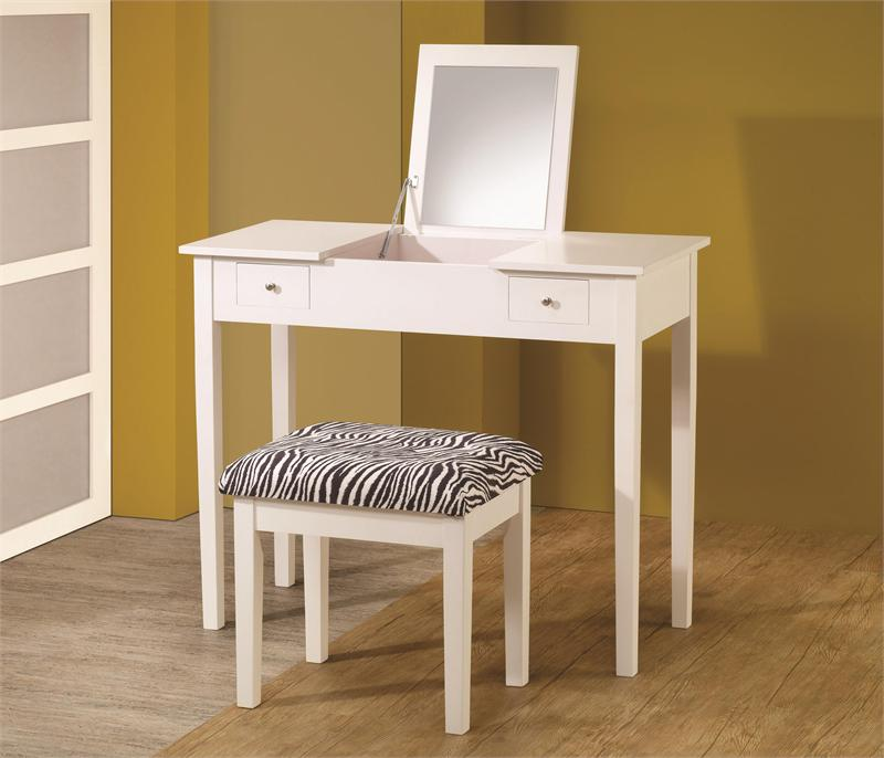 Kelly White Vanity Tables