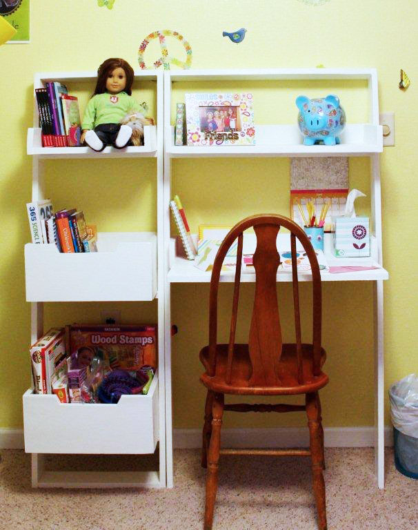 Picture of: Little sloan leaning desk
