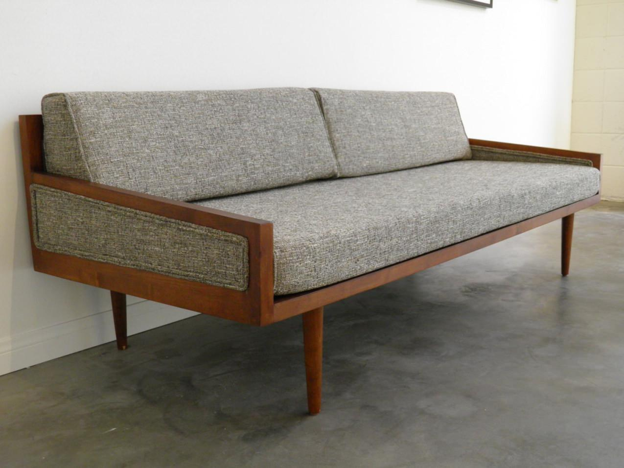 Image of: Luxury Mid Century Sofa