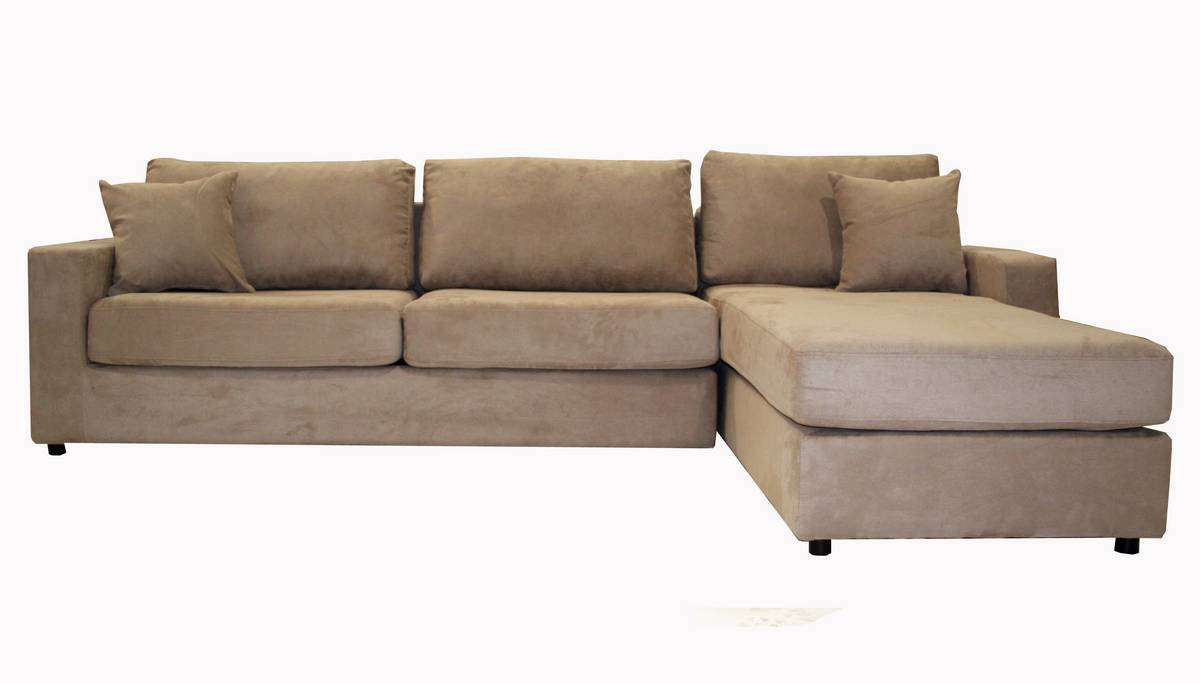 Image of: Microfiber Sectional Sofas