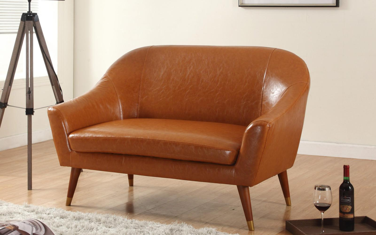 Picture of: Mid Century Modern Loveseat