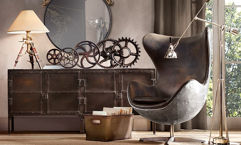 Picture of: Natural Steampunk Furniture Style