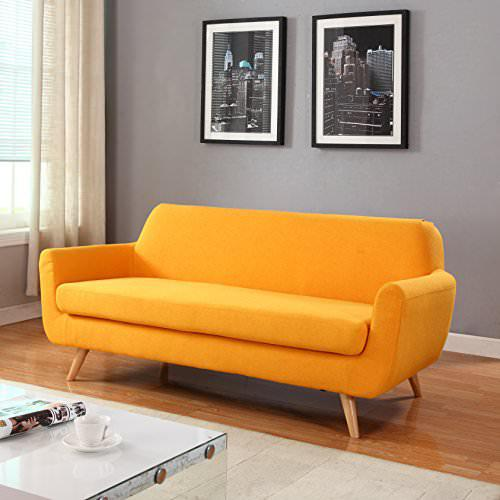 Image of: New Mid Century Sofa