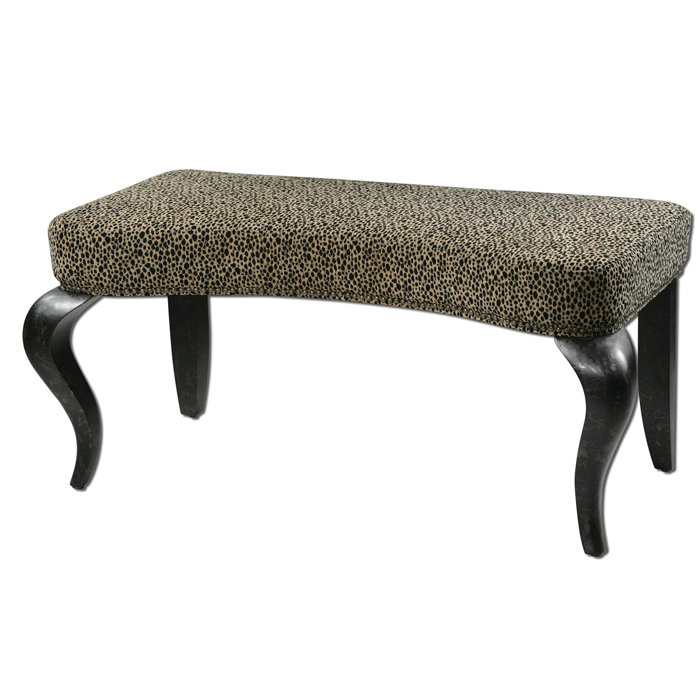 Image of: Old Upholstered Bench