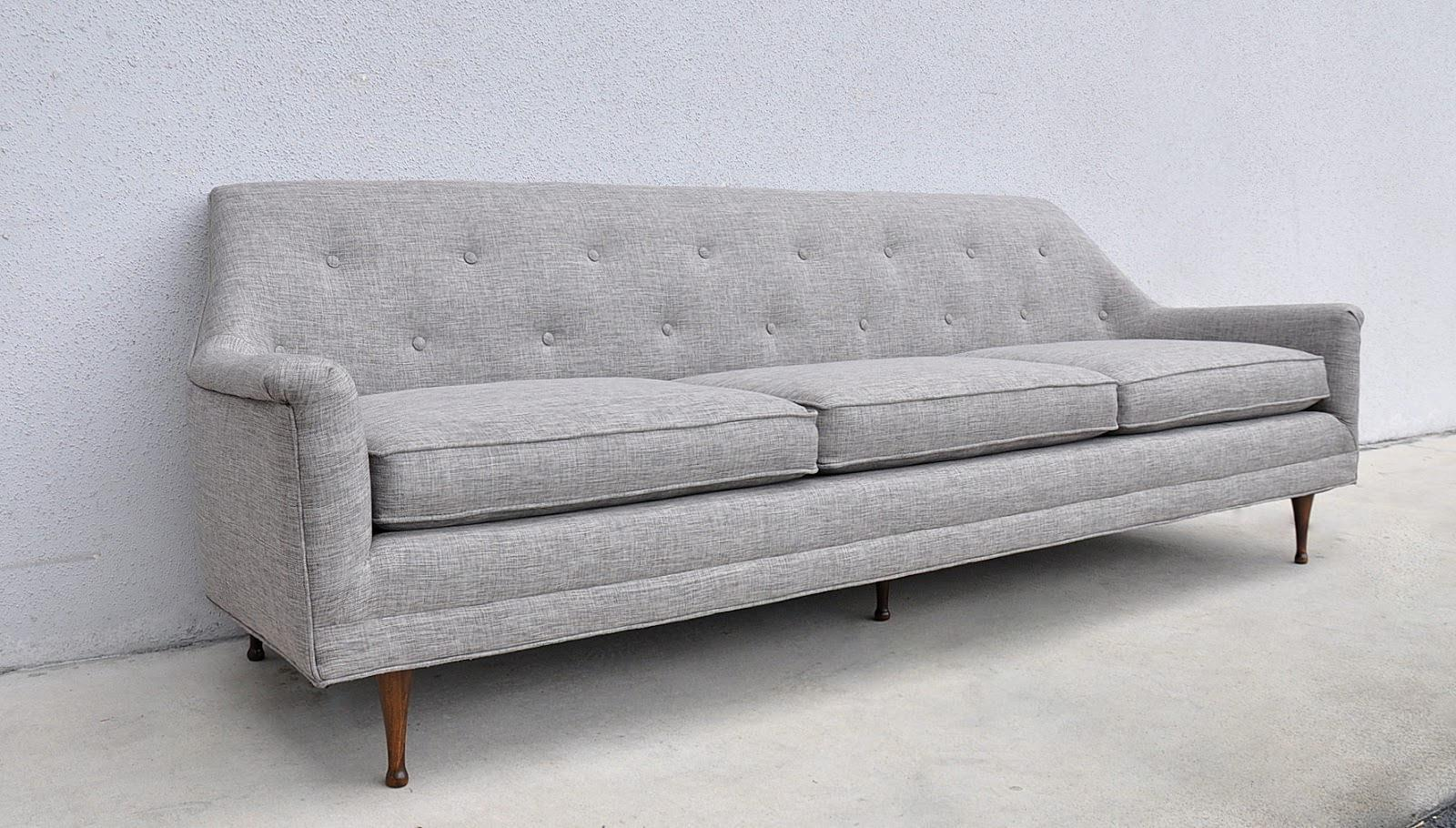 Image of: Original Mid Century Sofa