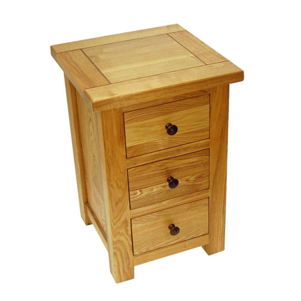 Picture of: Plum bedside table