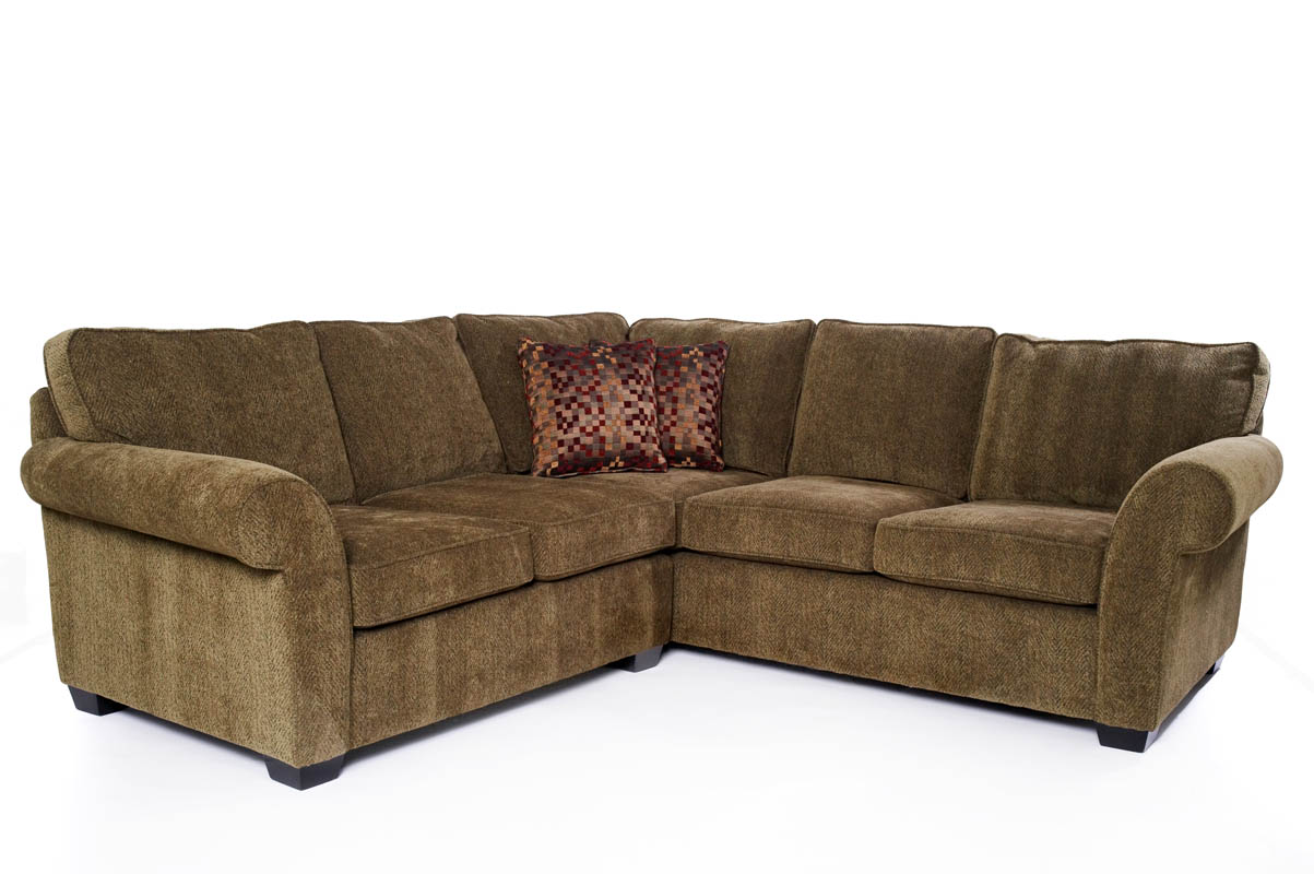 Image of: Sectional Sofas Brown