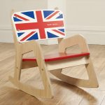Simple baby rocking chair