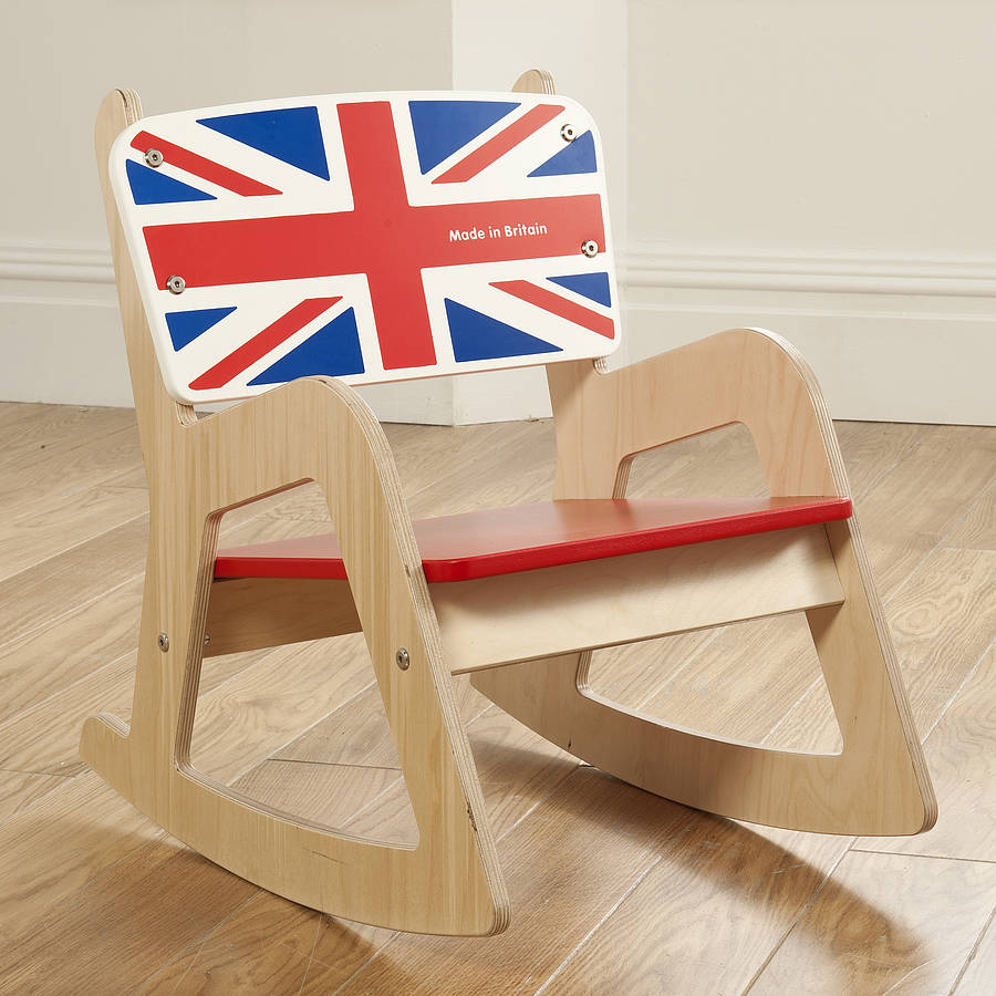 Image of: Simple baby rocking chair