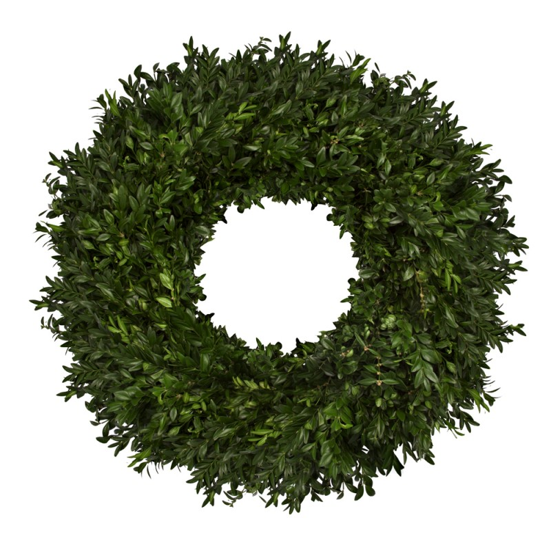 Picture of: Simple boxwood wreath