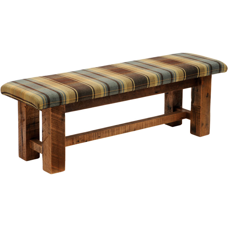 Image of: West Upholstered Bench