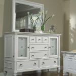 White Dresser with Mirror pictures